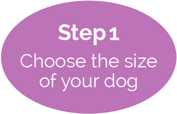 Choose the size of your dog
